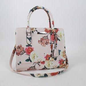 Nine West Pink Floral NWT Satchel Handbag